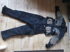 Motorbike Jacket and Trousers - padded - Shoei - Buffalo