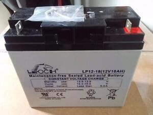 Leoch LP12-18, LP 12-18 12V 18Ah UPS Battery NEW