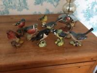 Beswick garden birds collection mint condition
