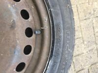 Ford Focus wheel and tyre used