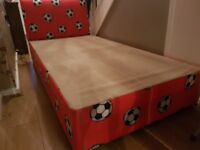single size football bed