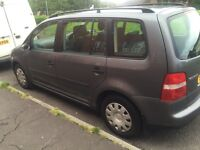 VOLKWAGEN TOURAN 5 SEATER FULL YEAR MOT EXCELLENT CONDITION