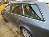 Audi a6 avant estate 2004 1.9tdi auto. spares repair