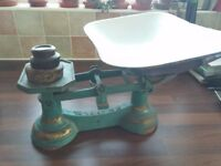 Edwardian Kitchen Scales & Weights