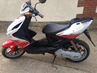 Yamaha aerox,50cc,moped,scooter,very low mileage