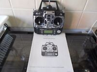 rc transmitter futaba t7cp pcm1024/ppm