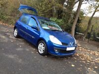 IDEAL 1st 2nd CAR/08 REG AUTO CLIO EXPRESSION EASY TO DRIVE WITH PLENTY OF POWER/