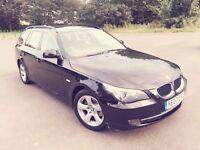 2007 BMW 520D SE TOURING, BLACK, 2.0 DIESEL, HPI Clear, FSH, 12 month MOT, 1 Owner, Excel Condition