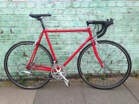 Large Steel Retro (56cm) Road Bike (Ritchey!?) + Campagnolo