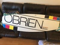 Obrien Local 138 wakeboard with Jobe Austin Series bindings