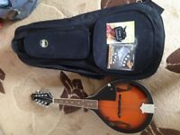 Stagg Mandolin,Gig Case and Accessories