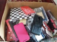Job lot of 96new phone cases different makes