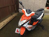Kymco 50cc Super8 motorscooter 2015 (65)