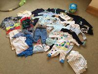 Baby boys clothes bundle 0-6 months