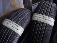 185 60 15 Tyres Landsail - 2 available 6mm tread