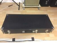 Hard case / flight case for 61 Key Keyboard Synthesiser