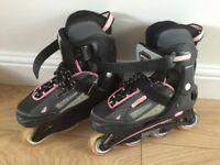 Bronx Grey Pink SFR Rollerblades Inline Skates