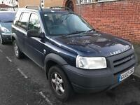 Land Rover Freelander 1002. Immaculate Mot. Tax. LEATHER 4 Wheel Drive