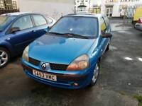 53 PLATE RENAULT CLIO. 1.2 PETROL. IDEAL FIRST CAR. PX WELCOME