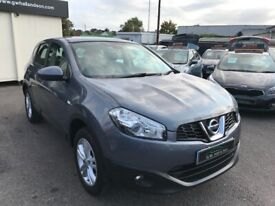 2010/10 NISSAN QASHQAI 1.6 ACENTA 5DR AN EXCELLENT CONDITION SUPPLIED WITH NEW MOT