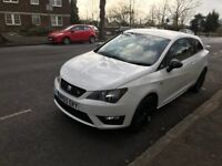 65 plate Seat Ibiza FR TSI 1.4 White/Black Edition CAT D 20,000 Miles Only Excellent Condition