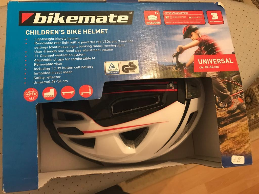 children's universal bike helmet NEW
