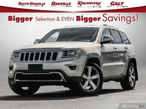 2014 Jeep Grand Cherokee Limited|BTOOTH|HTD LTHR|NAV|SROOF|SIRIU