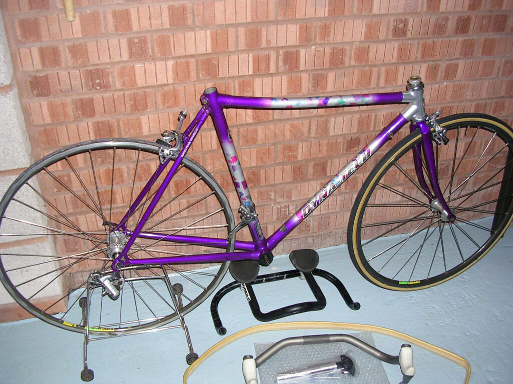 Raleigh Dynatech Low profile project bike