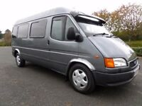 TRANSIT AUTOMATIC TURBO DIESEL CAMPERVAN NEW CONVERSION ONE OWNER FROM NEW