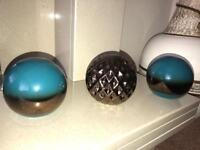 Ceramic balls - decor