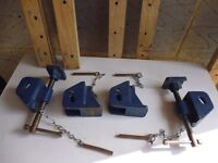 Axminster Clamp Heads