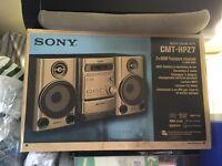 Sony mirco cd (5) and radio stereo. like new works great £50