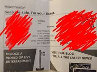 Guns and roses ticket. £60!!! Way under face value