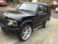 Land Rover Discovery 2 TD5 7 Seater 5 speed manual