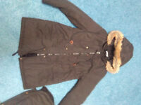 Size 8 Maternity winter coat