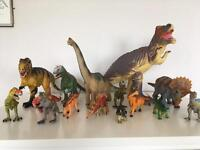 Toy Dinosaurs- over 30 included
