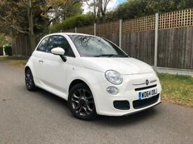 image for 2015 Fiat 500 1.2 S 3dr HATCHBACK Petrol Manual WHITE! Bargain Price!