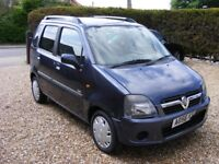 Vauxhall Agila Design Twinport 2006 56 Reg 55450 miles FSH £950