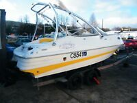 Mariah 19 SC Sports Cuddy Speedboat Ski boat