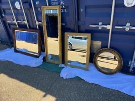 Mirrors 4 beautiful Vintage - Antique etc start £45.00