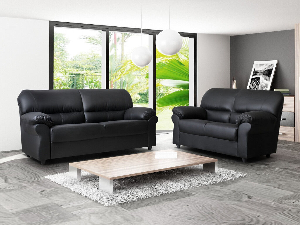 Brand new candy sofas 3 2 seater sofa set or corner sofa for Black corner sofa