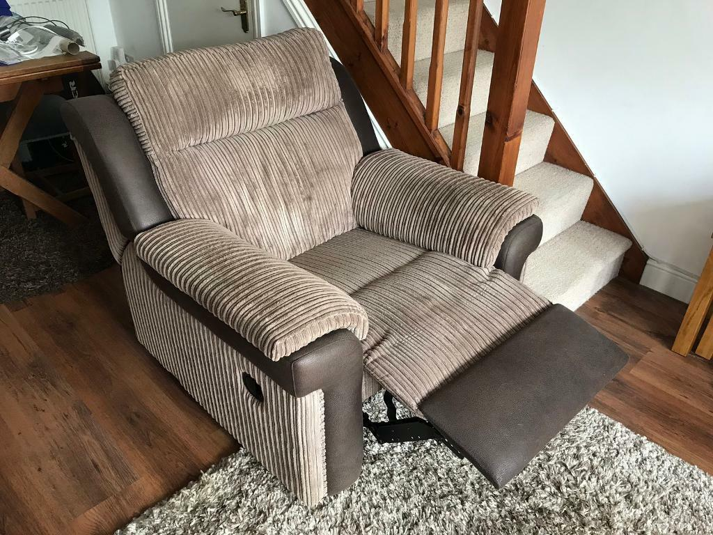 Manual Recliner Chair In Ely Cambridgeshire Gumtree