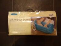 Mothercare travel inflatable baby bath