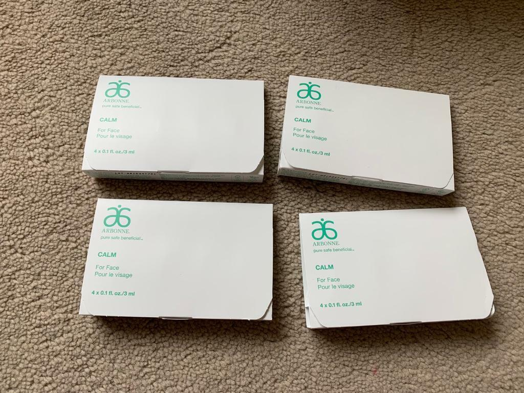 4 travel sets of calm Arbonne beauty products | in Didsbury, Manchester |  Gumtree