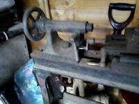 Britannia works foot pedal lathe for sale