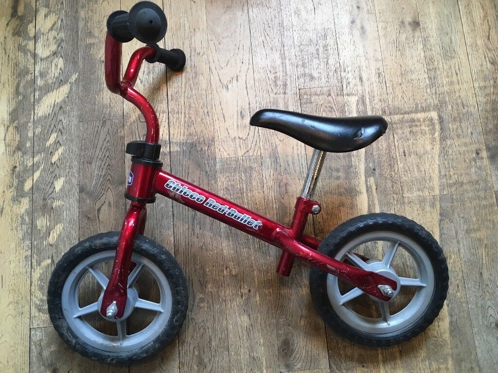 45d2bb7f3c0 Chicco Red Bullet Balance Bike | in Camden Town, London | Gumtree