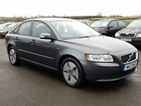 2009 Volvo S40 diesel with only 38000 miles, full history, motd dec 2017 1 owner excellent example