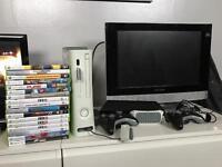 Xbox 360 bundle plus television
