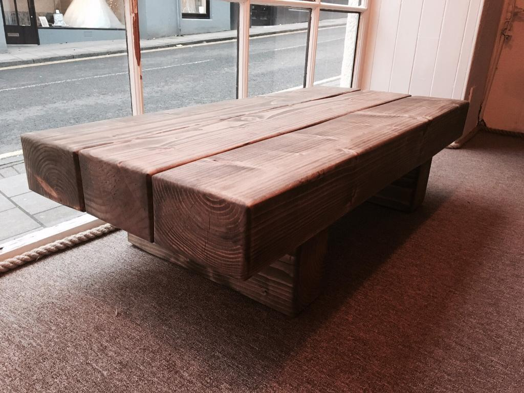 railway sleeper coffee table | in kirkcaldy, fife | gumtree