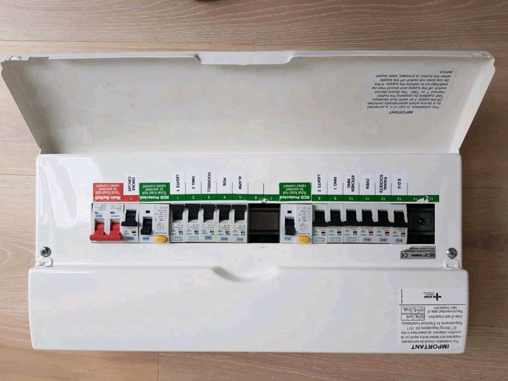 Fuse Box Consumer Unit Hardly Used In Docklands London Gumtree